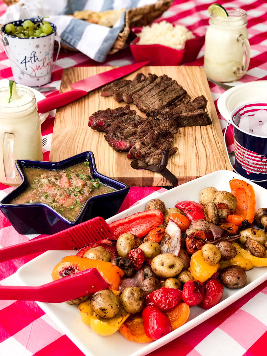 4th of July decor and menu ideas