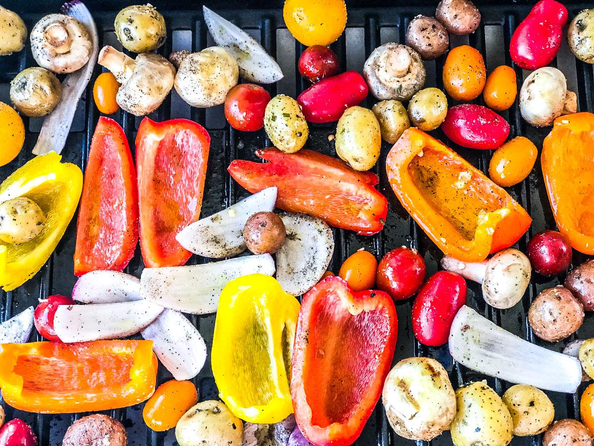 Gilling Vegetables