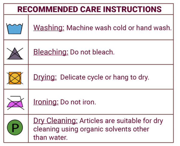 Recommended-Care-Instructions